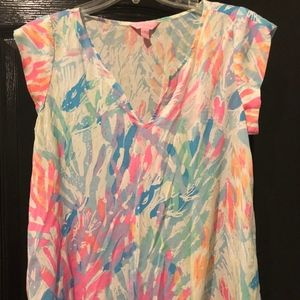 Lilly Pulitzer Short Sleeve Top